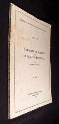 The Mode of Action of Organic Insecticides: Metcalf, Robert L.