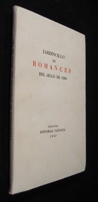 ARDINCILLO DE ROMANCES DEL SIGLO DE ORO: Rodriquez-Monino, A.