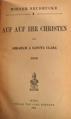 Wiener Neudrucke. Hefte I-XI (11 Werke in 4 Bänden): Neudrucke, Wiener