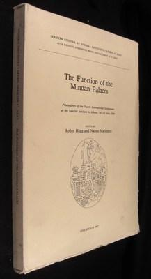 The Function of the Minoan Palaces : Proceedings of the Fourth International Symposium at the Swe...