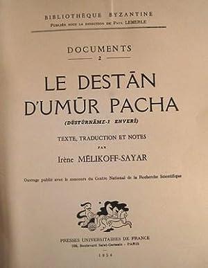 Le Destan D'Umur Pacha: Melikoff-Sayar, Irene