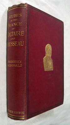 Studies in the France of Voltaire and Rousseau: MacDonald, Frederika