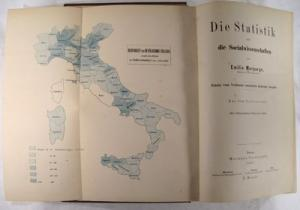 Die Statistik und die Socialwissenschaften.: Morpurgo, Emilio