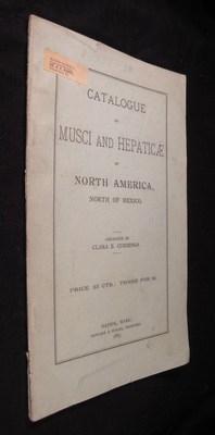 Catalogue of Musci and Hebaticae of North America, North of Mexico: Cummings, Clara E.