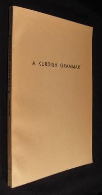 A Kurdish grammar: Descriptive analysis of the: McCarus, Ernest N.