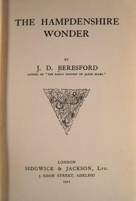 The Hampdenshire Wonder: Beresford, J. D.