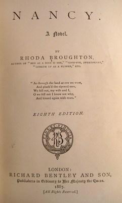 Nancy : a novel: Broughton, Rhoda