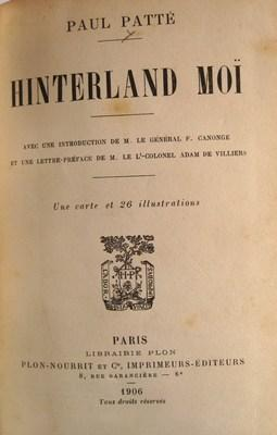 Hinterland Moï: Patte, Paul