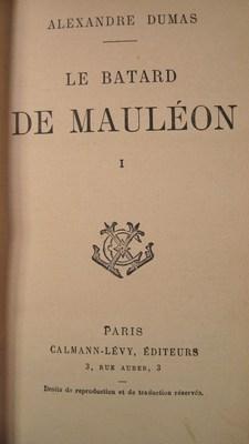 Le batard de mauleon (3 volumes): Dumas, Alexandre