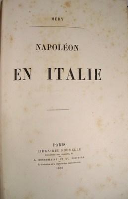 Napoleon En Italie: Mery