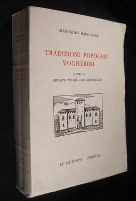 Tradizioni popolari vogheresi. A cura di G. Vidossi & Y. Maragliano: Maragliano, Alessandro