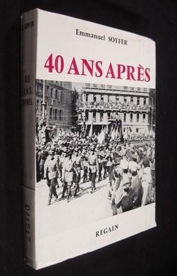 40 ANS APRES: SOYFER, Emmanuel