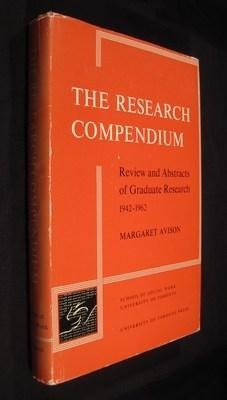The Research Compendium Review and Abstracts 1942-1962