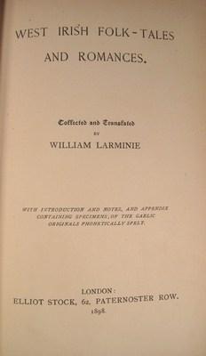 West Irish Folk-Tales and Romances: Larminie, William