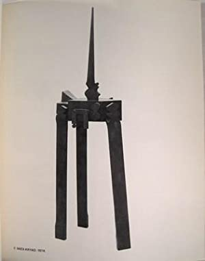 The Sculpture of Douglas Abdell: January 14th to February 5th, 1977: Abdell, Douglas