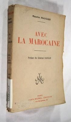 Avec la Marocaine.: MAUGARS, Maurice