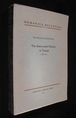 The Intervocalic Plosives in Tuscan (-P-T-C-): Urciolo, Raphael