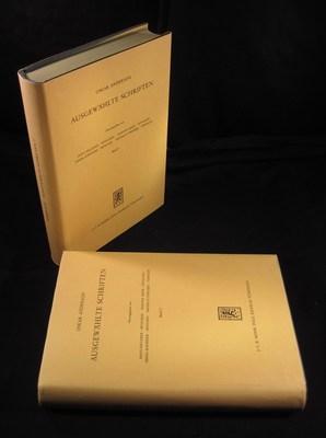 Ausgewählte Schriften. 2 Bände (2 volumes): Anderson, Oskar