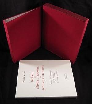 Journal du séjour à Grenoble de Jean-Jacques Rousseau. Introduction de Raymond ...