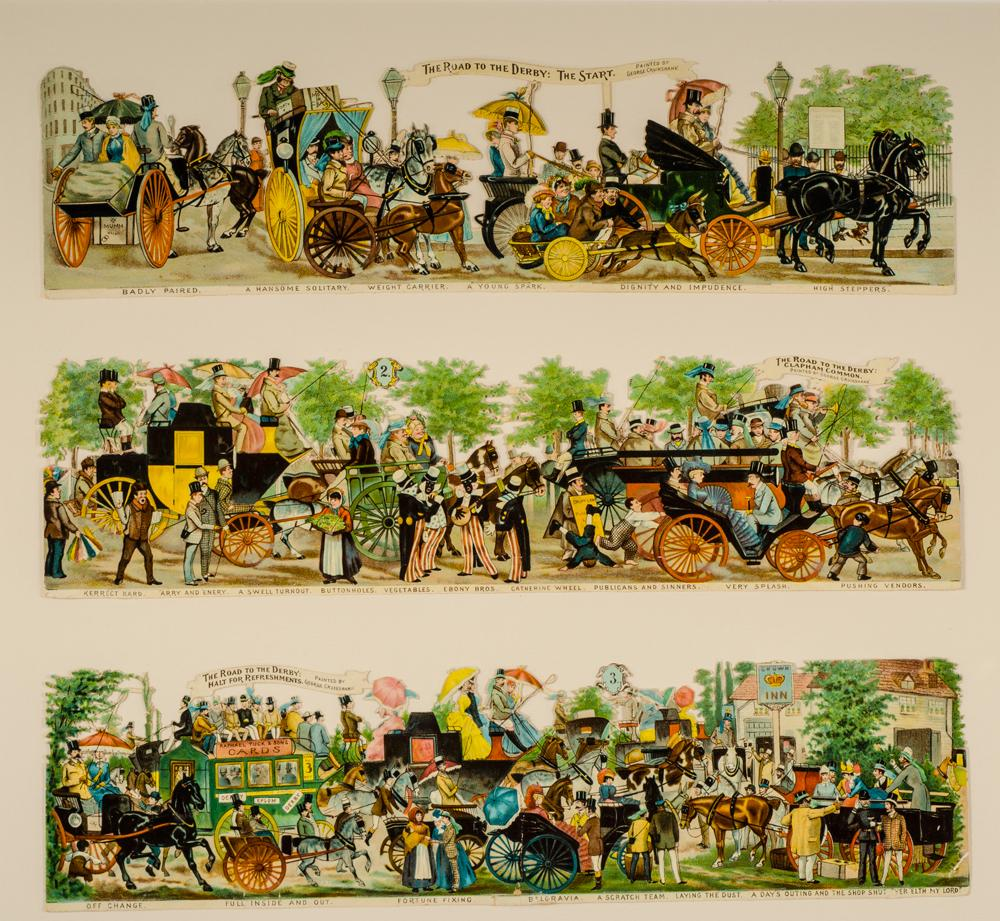 The Road to the Derby: CRUIKSHANK, George, illustrator