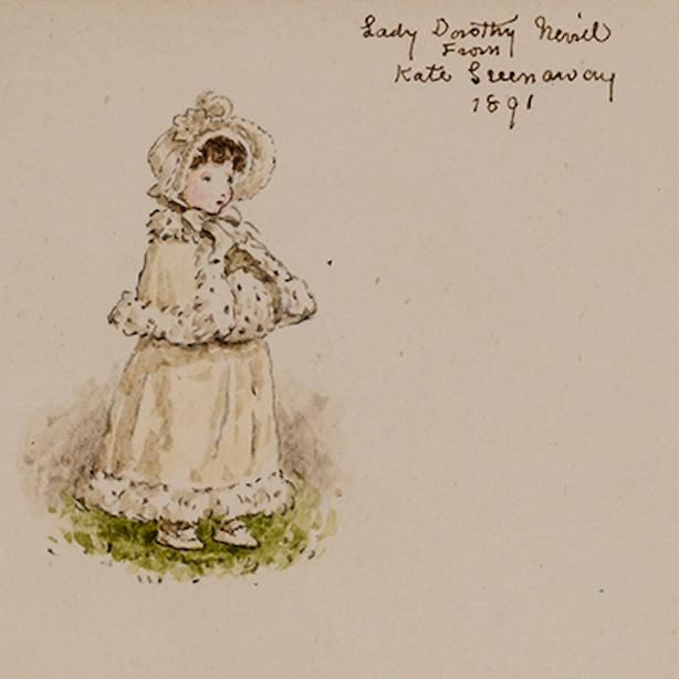Kate Greenaway's Almanack for 1892: GREENAWAY, Kate, artist