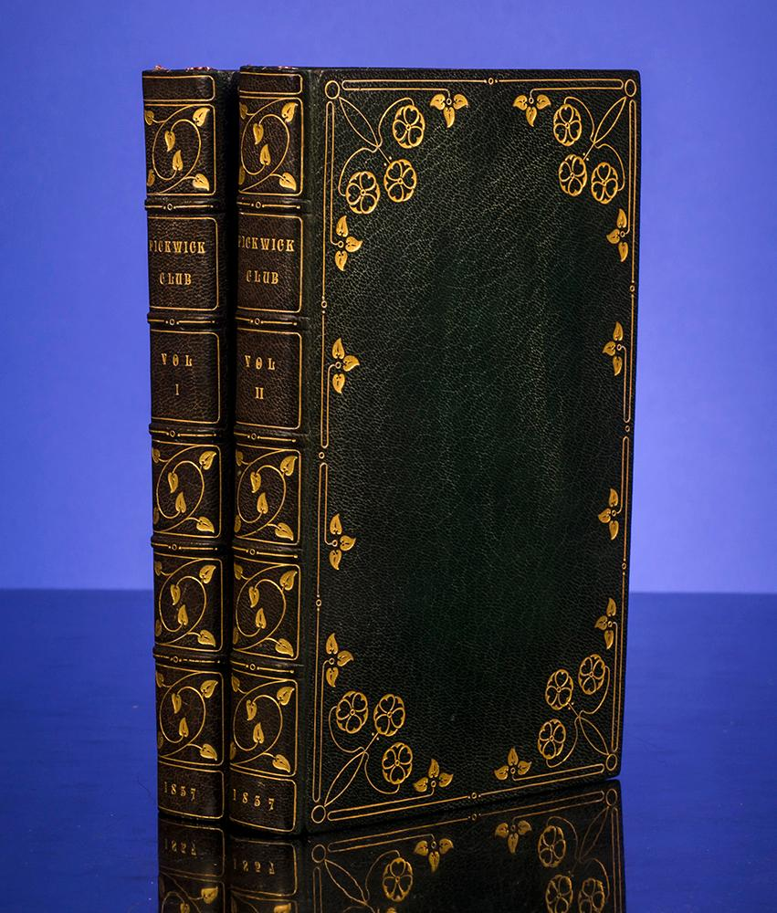 Posthumous Papers of The Pickwick Club, The: DICKENS, Charles HAMPSTEAD BINDERY, The
