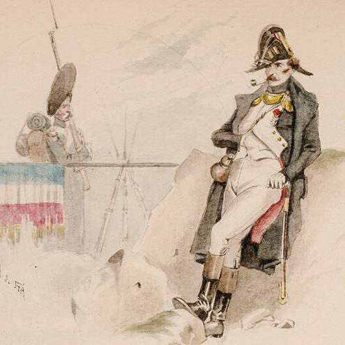 Drapeau, Le: CLARETIE, Jules; Saint-Alary, Arsène Henri, artist; Pierson, Henri Joseph, binder