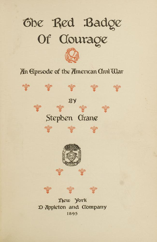 Red Badge of Courage, The: CRANE, Stephen