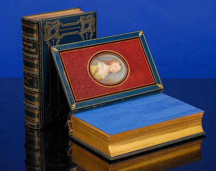 Madame de Sévigné, Her Correspondents and Contemporaries: COSWAY-STYLE BINDING; ...