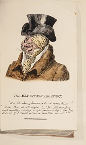 Four Original Watercolors in the Manner of George Cruikshank