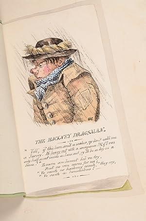 Four Original Watercolors in the Manner of George Cruikshank: CRUIKSHANKIANA]