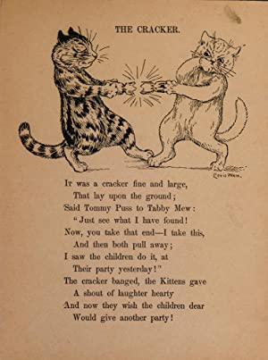When The Cat's Away The Mice Will Play: WAIN, Louis; COX, Palmer
