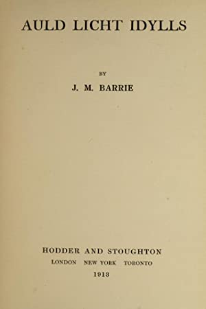 Works, The: BARRIE, J.M.