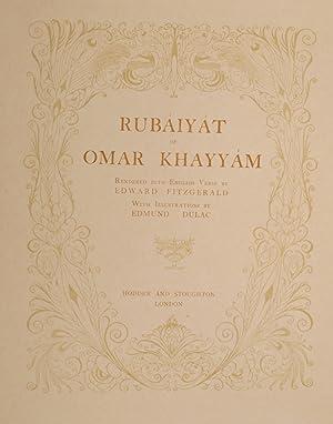 Rubáiyát of Omar Khayyám: DULAC, Edmund, illustrator; KHAYYAM, Omar; FITZGERALD, Edward (trans.)
