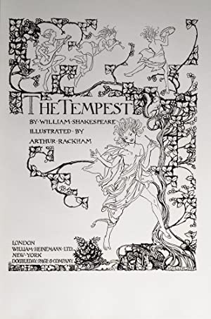 Tempest, The: RACKHAM, Arthur; SHAKESPEARE, William