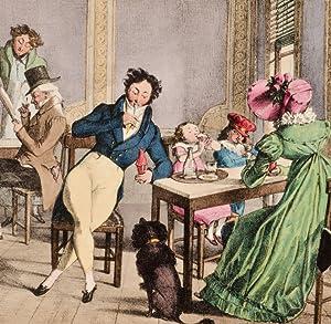 Twenty Four Subjects Exhibiting the Costume of Paris: CHALON, J[ohn] J[ames]