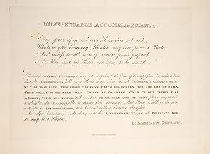 Indispensable Accomplishments: FRANKLAND, Sir Robert; COPLOW, Billesdon