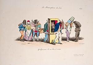 Les Metamorphoses du jour: GRANDVILLE, J.J. (pseud. of Jean-Ignace-Isidore Gerard)