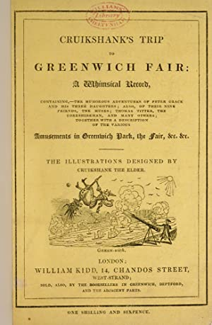 Cruikshank's Trip To Greenwich Fair: CRUIKSHANK, Robert