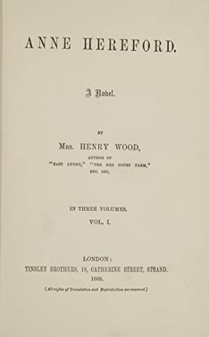 Anne Hereford: WOOD, Mrs. Henry