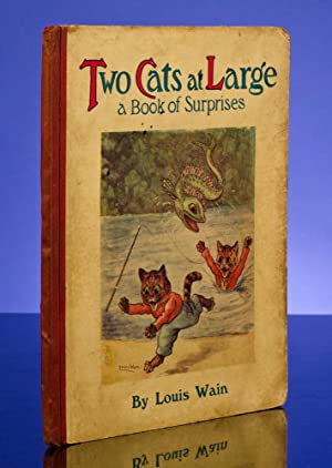 Two Cats At Large: WAIN, Louis, illustrator;