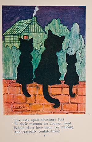 Two Cats At Large: WAIN, Louis, illustrator; WOODHOUSE, S.C.