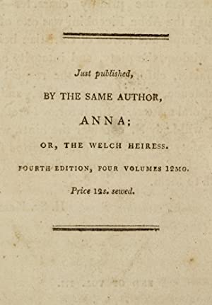 Vicissitudes Abroad;: BENNETT, Mrs. [Anna aka Agnes Maria]; BENNETT, Anna Maria