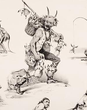 Les Diables de Lithographies: LE POITEVIN, [Eugène]