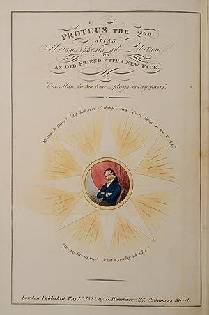 Proteus the 2nd. Alias Metamorphosis ad Libitum: CRUIKSHANK, Robert, illustrator; MATHEWS, Charles
