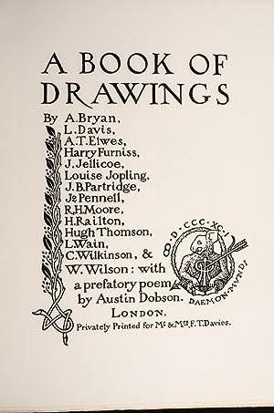 Book of Drawings, A.: WAIN, Louis, illustrator; THOMSON, Hugh