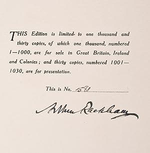 Arthur Rackham's Book of Pictures: RACKHAM, Arthur, illustrator; QUILLER-COUCH, Sir Arthur