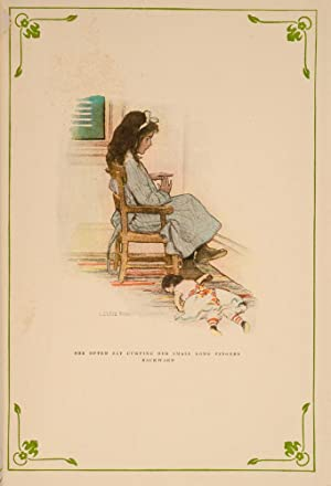 In the Closed Room: SMITH, Jessie Willcox, illustrator; BURNETT, Frances Hodgson