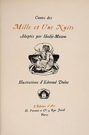 Contes des Mille et Une Nuits: DULAC, Edmund, illustrator