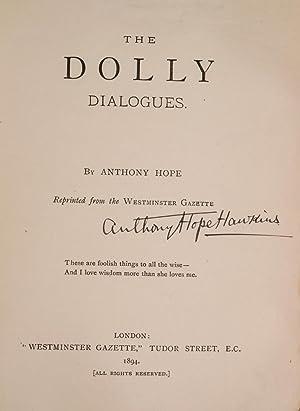 Dolly Dialogues, The: RACKHAM, Arthur, illustrator; HOPE, Anthony
